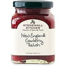Stonewall Kitchen Relish, New England Cranberry, 12 Ounce