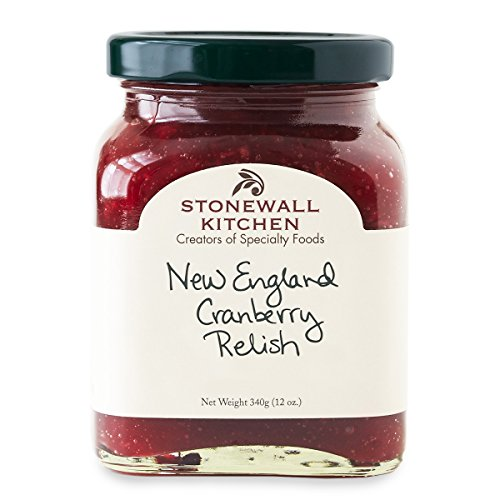 Stonewall Kitchen Relish, New England Cranberry, 12 Ounce