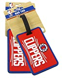 Los Angeles Clippers - NBA Soft Luggage Bag Tag - Set of 2