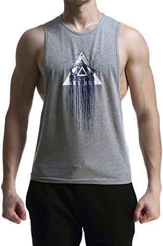 (シュアナウ) SURENOWタンクトップ メンズ トレーニングウェア ノースリーブ インナーシャツ カジュアル ファッション 吸汗速乾