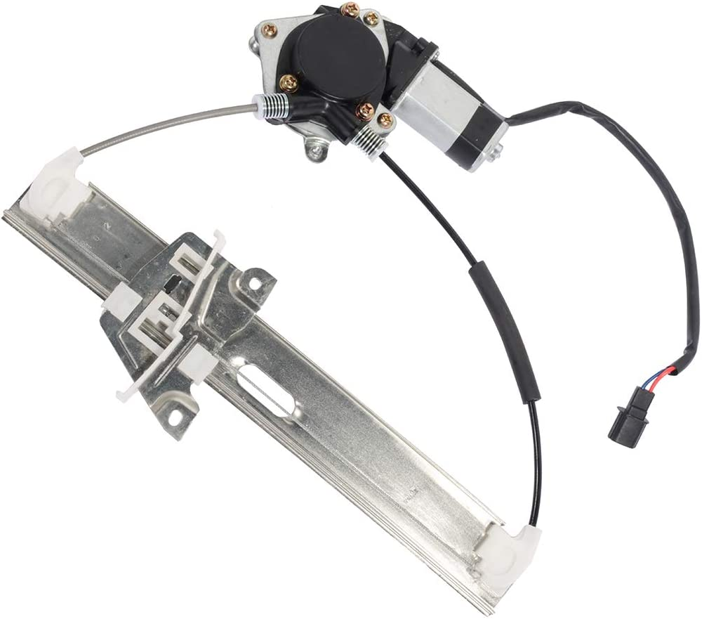 ZZCA73560 Power Window Regulator Rear Left Driver Side with Motor fits for 2008-2012 For F-ord Escape 2008-2011 M-ercury Mariner 8L8Z7827001-A ZZCA73560R00 751-712