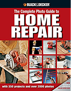 with 300 Projects and 2,000 Photos Black /& Decker Complete Home Improvement