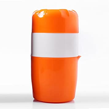 Hinmay Exprimidor manual portátil mini limón exprimidor gran capacidad naranja cítrico exprimidor de zumo: Amazon.es: Hogar