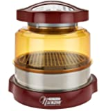 Nuwave Pro Plus Oven with Stainless Steel Extender Ring- Cinnamon
