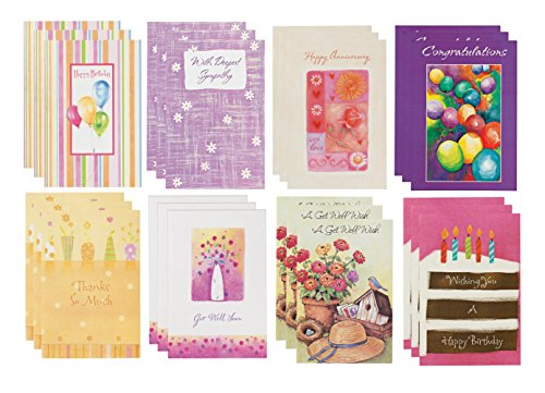 Miles Kimball All Occasion Cards, Set of 24