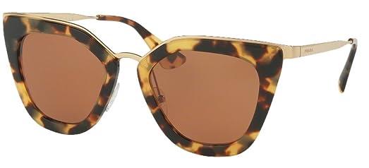 398132068df5 ... promo code for prada pr53ss sunglasses light havana frame w brown lens  11d72 fbddf