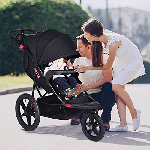 Costzon Baby Jogger Stroller Lightweight w/ Cup Phone Holder by Costzon (Image #6)'