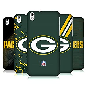 Official NFL Green Bay Packers Logo Hard Back Case for HTC Desire 816 from Head Case Designs