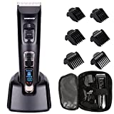Cordless Hair Clippers For Men Hair Clipper Set With LED Display,6 Functional Hair Combs,Li-Ion Battery,CeramicBlade,Best Gift For Father And Boyfriend # Deercon 578 Review