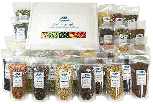 Harmony House Foods Deluxe Sampler (30 Count, ZIP Pouches) for Cooking, Camping, Emergency Supply, and More (Baby Food Dehydrated)
