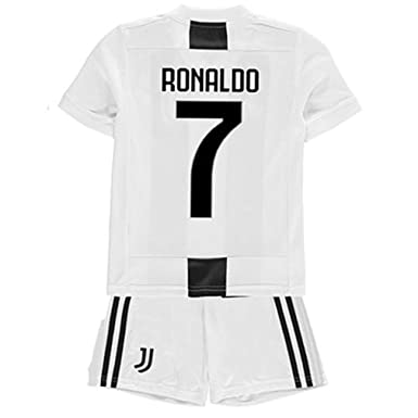 2e428e4c259 NAT Juventus Ronaldo  7 Soccer Jersey 2018-2019 New Kids Youth Children s