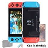 Dockable Case for Nintendo Switch [Updated],FYOUNG Protective Cover Case for Nintendo Switch and Nintendo Switch Joy-Con Controller