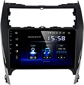 Dasaita Android 10.0 in-Dash Navigation Car Radio Carplay for Toyota Camry 2012 2013 2014 Single Din Car Stereo with GPS Navigation 10.2 Inch Quad-Core RDS Radio Wi-Fi Mirror Link (4G RAM+64G ROM)