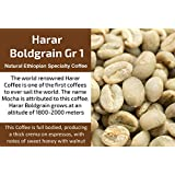 Harar Boldgrain Grade 1 - Unroasted Natural Ethiopia Coffee (1 Kg / 2.2 Lbs)