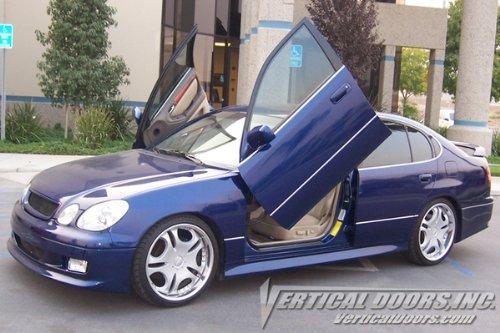 Lexus GS300 - Lambo Vertical (Lexus Lambo Doors)