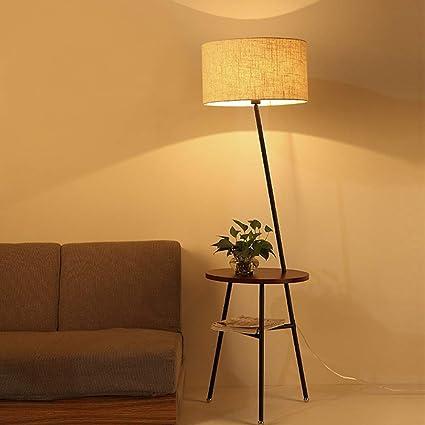 CLLCR Moderna Lámpara de Pie Minimalista Estudio de Sala de ...