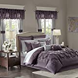 Joella 24 Piece Room in a Bag Plum Cal King