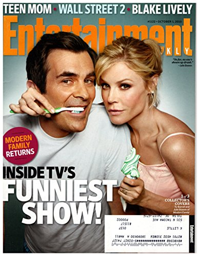 Entertainment Weekly Magazine - October 1, 2010 - Ty Burrell & Julie Bowen (Modern Family) - Teen Mom - Wall Street: Money Never Sleeps - Blake Lively