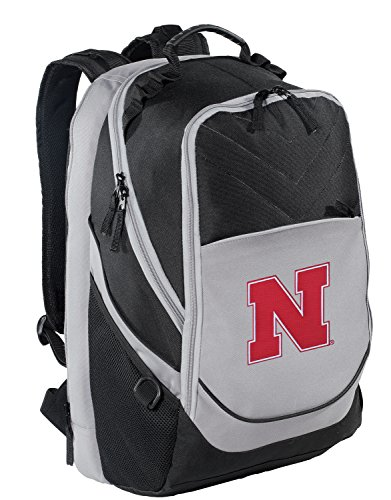 University of Nebraska Backpack Nebraska Huskers Laptop Computer Bag Nebraska Cornhuskers Laptop Backpack