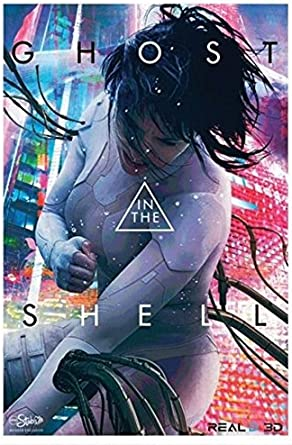 Ghost In The Shell 27 X40 Original Movie Poster One Sheet 2017 Scarlett Johansson Amc Stubs At Amazon S Entertainment Collectibles Store