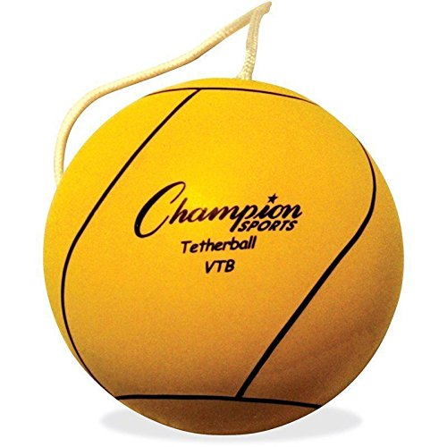 Champion Sports Optic Yellow Tether Ball, New