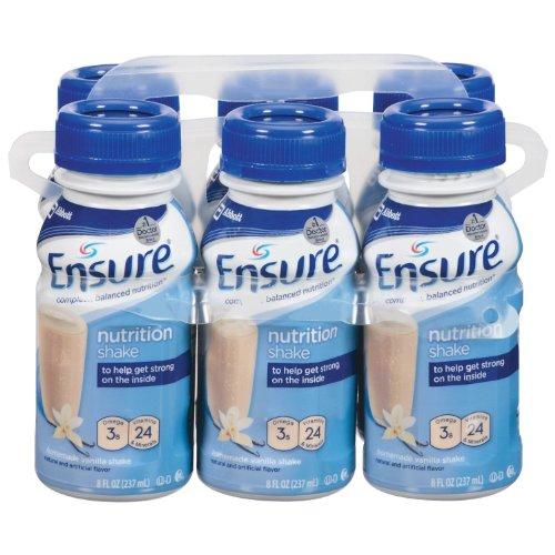 Ensure Original Nutrition Shake, Vanilla, 24 Count (Protein Complete Eas)