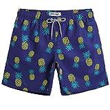 Best Mens Swim Trunks - MaaMgic Mens Boys Short Pineapple Swim Trunks Mens Review