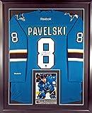 san jose sharks jersey captain - SJ Sharks Joe Pavelski Autographed Jersey w/ Inset Photo &