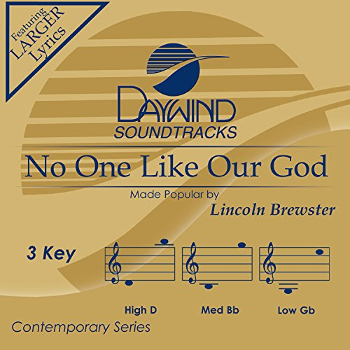 No One Like Our God [Accompaniment/Performance - Accompaniment No Cd