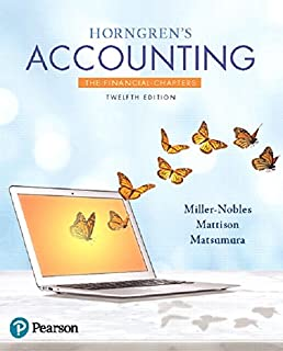 Horngrens accounting the managerial chapters 12th edition horngrens accounting the financial chapters plus mylab accounting with pearson etext access card fandeluxe Image collections