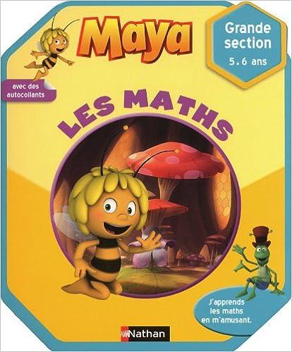 Livre Maya l'abeille - Les maths - 5/6 ans pdf, epub