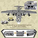 Xingbao 06023 Military Army Series The AC130 Aerial Gunboat Set Building Blocks Bricks Educational Toys Classic Model Plane WW2 Toys Adult Toys for Men Compatible All Major Brand