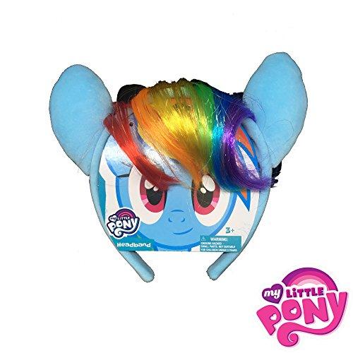 My Little Pony Headband - Rainbow Dash Faux Hair