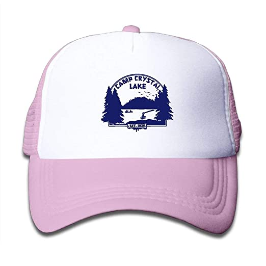 bb63c00fcba Image Unavailable. Image not available for. Color  feng cai Camp Crystal  Lake Snapback Hat Adjustable Mesh ...
