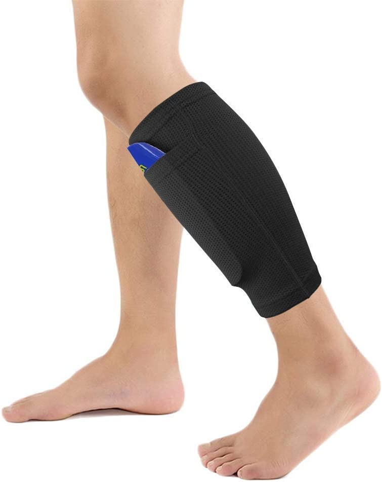 for Soccer//Football Games 3-15 Years Old Boys Girls EVA Cushion Protection Reduce Shocks /& Injuries Risefit Shin Guards Youth for Kids Football Shin Guards with High Elastic Calf Sleeves