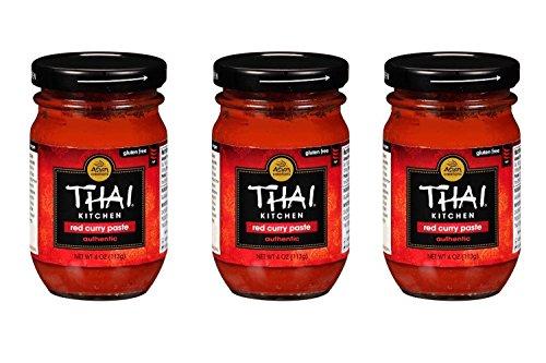 THAI KITCHEN | Gluten Free -Curry Paste-Red 4 Oz [3 Pack]