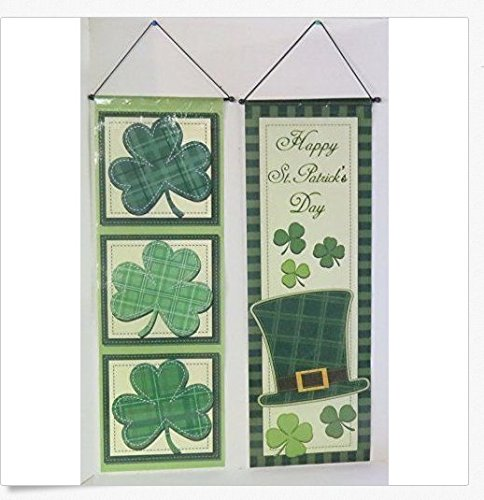 regent-products-two-happy-st-patricks-day-hanging-banners-each-with-thread-10-in-x-30-in
