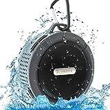 Deklerk waterproof bluetooth speaker, perfect shower speaker, sound, outdoor speakers good sound effect, bluetooth speakers with connectivity with all bluetooth devices