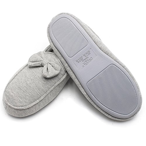 femme Ofoot Chaussons Ofoot Gris Chaussons fqgOxt
