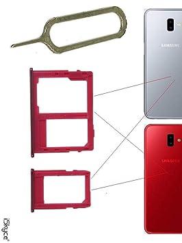 iSkyce Cajón de 2 sim y Tarjeta SD para Samsung Galaxy J4 ...