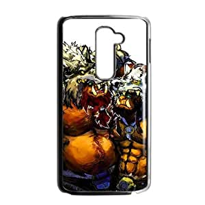 LG G2 phone case Black World of Warcraft WOW Fenris Wolfbrother TTR6946241