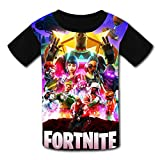 Kids T-Shirts Fortnite Battle Royale Game Casual 3D Short Sleeve Cool Top Tees