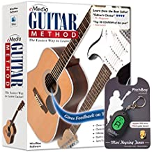 eMedia Guitar Method v6.0 - with Bonus Pitchboy Mini Keyring Tuner