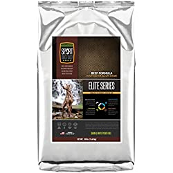 SportDogFood Elite Grain Free Dog Food, Beef, 30-Pound