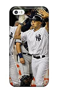 New Style Tpu 5/5s Protective Case Cover/ Iphone Case - New York Yankees