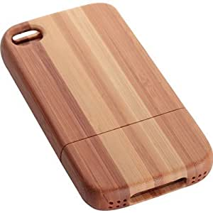 Limited Luxury IPH2202-4 Bamboo Case for iPhone 4/4S - 1 Pack - Retail Packaging - Bamboo