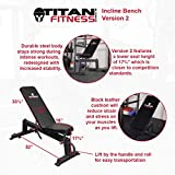 Titan Fitness T-2 Short Power Rack & Incline
