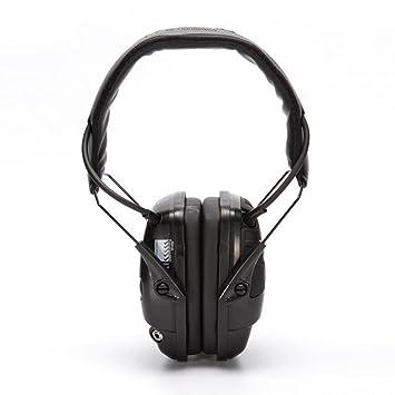 Protector auditivo electrónico de audio,Cascos Aislantes del Ruido,Orejeras de Protección Auditiva de