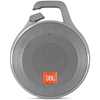 JBL Clip+ Splashproof Portable Bluetooth Speaker, Gray