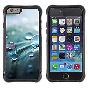 "Pulsar iFace Series Tpu silicona Carcasa Funda Case para Apple iPhone 6+ Plus(5.5 inches) , Gota Naturaleza Primavera fresca Perla"""